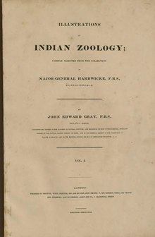 Illustrations of Indian Zoology, Vol. 1.djvu