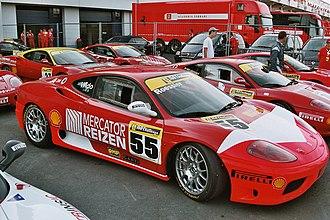 Ferrari Challenge - The Ferrari 360 Challenge was the Ferrari Challenge racer replacing the F355 Challenge.