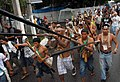 Indian protesters from Vale do Javarí in Belém 2009-1530FP8876.jpg