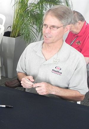 Pete Halsmer - Halsmer at the 2014 Indianapolis 500.