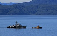 Iney assisted by RB-262 in Avacha Bay Petropavlovsk-Kamchatskiy 27 August 2010.jpg