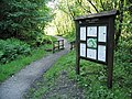 Information board in Cwm Clydach Nature Reserve - geograph.org.uk - 177770.jpg