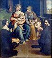 Innocenzo da Imola Virgen con niño, santa Isabel san juanito y donantes 1520-30 PN Bolonia.jpg