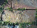 Inscribed Stone at Coddington St Mary - geograph.org.uk - 414583.jpg