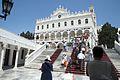 Inside area of pilgrimage basilica, Chora of Tinos, 090782.jpg