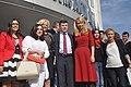 Intalnirea europarlamentarilor Corina Cretu si Daciana Sarbu cu organizatia PSD Arges - 30.04 (1) (14076754422).jpg