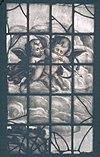 interieur, gebrandschilderd glas, detail - de rijp - 20265892 - rce