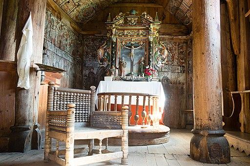 Interior, Urnes Stave Church-2