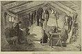 Interior of an officer's hut at Balaclava - ILN 1855-0303-0020.jpg
