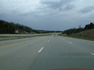 Interstate 75 - I-75 north of Lexington