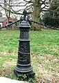 Iron post, Tong churchyard - geograph.org.uk - 1211392.jpg