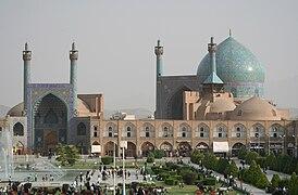 Isfahan Royal Mosque general