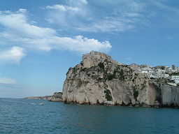 Italy-Italia Puglia Peschici dal mare PxT