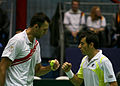 Ivo Karlovic Ivan Dodig Davis Cup 05032011 1.jpg
