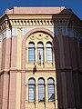 Jüdische Universität, dreibogiges Fenstern, 2018 Józsefváros.jpg