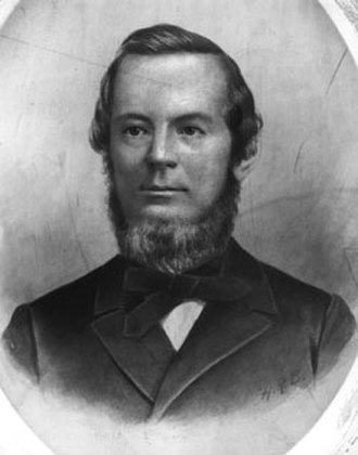 John Appleton - John Appleton as a young man.
