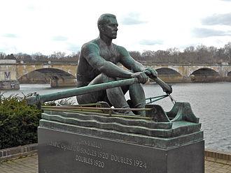 John B. Kelly Sr. - Sculpture of Kelly in Fairmount Park, Philadelphia