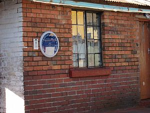 Soweto - James Mpanza's house in Orlando