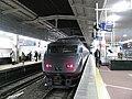 JR Kyushu 787 set BM11 on Relay Tsubame service at Hakata Station 20101215.jpg