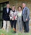 Jaap & Jeannine de Hoop Scheffer + Laura & GeorgeW Bush 2007May21.jpg