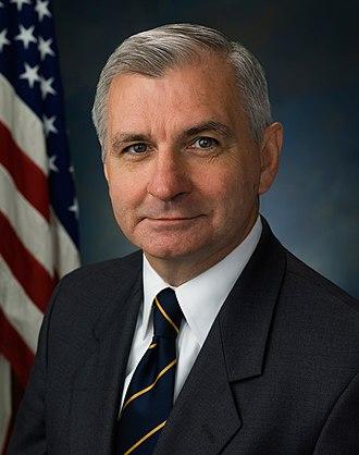 Jack Reed (Rhode Island politician) - Reed's earlier portrait