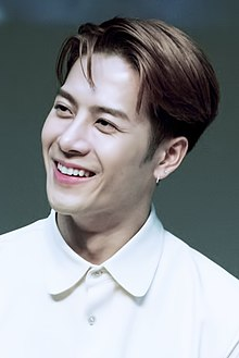 Jackson Wang at a fansigning event in Noryangjin, 7 December 2018.jpg