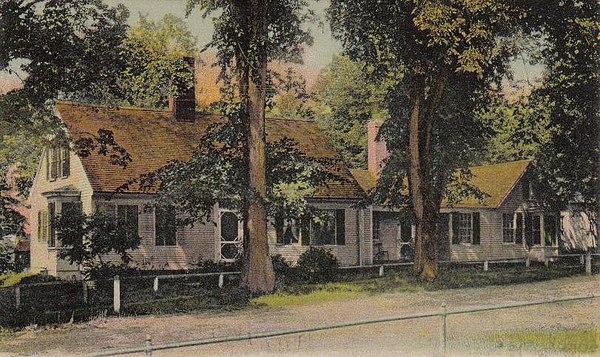 Farmington maine for Abbott house