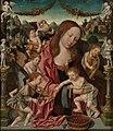 Jacob Cornelisz. van Oostsanen - Maria met Kind en musicerende engelen - 3170 (OK) - Museum Boijmans Van Beuningen.jpg