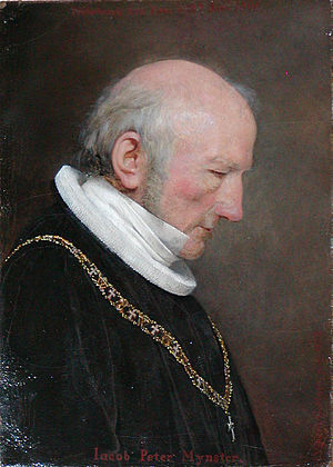 Johan Vilhelm Gertner - Image: Jacob Peter Mynster