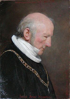 Johan Vilhelm Gertner - Image: Jacob Peter Mynster