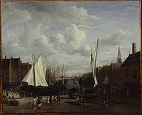 Jacob van Ruisdael - Quay at Amsterdam.jpg
