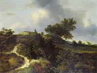 Jacob van Ruisdael - Road in the Dunes - Munich.jpg