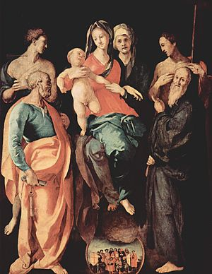 1529 in art - Image: Jacopo Pontormo 014