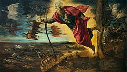 Jacopo Tintoretto - Creation of the Animals - WGA22438