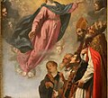 Jacopo vignali, Assunta coi ss. Vitale, Alessandro e Gregorio, 03.jpg