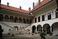 Jagiellonian University, Collegium Nowodworskiego (courtyard), 12 św. Anny street, Old Town, Krakow, Poland.jpg