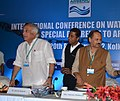 Jairam Ramesh at the 'International Conference on water quality with special reference to arsenic', in Kolkata. The State Minister of Public Health Engineering and Panchayat & Rural Development, Government of West Bengal.jpg