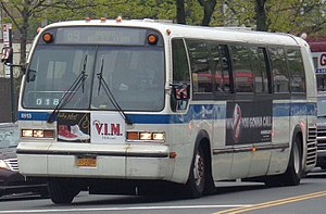 MTA Regional Bus Operations bus fleet - Image: Jamaica LIRR 94th St Bus Stop 03