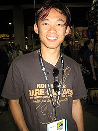 James Wan attending Comic Con, 2007.