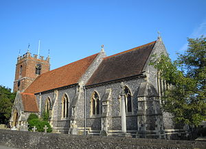 Pangbourne - St James the Less parish church