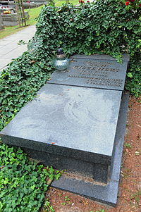 Jan Ciszewski Grave.JPG