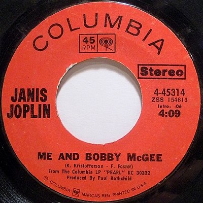 ME AND BOBBY MCGEE Chords Janis Joplin EChords - induced.info