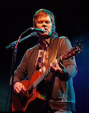 Jason Gray (musician) - Jason Gray in concert