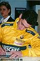 Jason Plato signing pictures Autosport International 1999.jpg