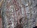 Jaspilite banded iron formation (Soudan Iron-Formation, Neoarchean, ~2.69 Ga; Rt. 169 roadcut between Soudan & Robinson, Minnesota, USA) 8 (18417530444).jpg