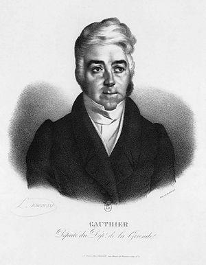 Jean-Élie Gautier - Portrait by Desmarais