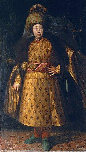 Jean-Baptiste Tavernier - Jean-Baptiste Tavernier in oriental costume, 1679