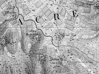 Muqeible - Muqeible, named Meqbeleh on the map by Pierre Jacotin from  1799