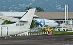 Jetstream 32 & Airbus A330-343 SE-LHI (F-OTEI now) & C-GTSD Ava Air & XL Airways France TFFF-FDF.jpg