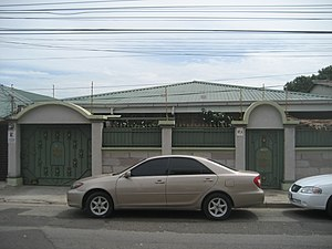 History of the Jews in Honduras - A Jewish home in San Pedro Sula